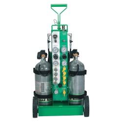 MSA - 10107535 - Air Cylinder Cart, Steel, Green