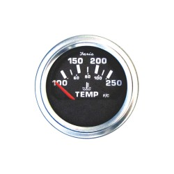Faria Beede Instruments - GP0632 - 2 Stainless Steel Engine Temperature Gauge with 2-1/16 (53mm) Mounting Hole