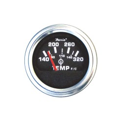 Faria Beede Instruments - GP0631 - 2 Stainless Steel Engine Oil Temperature Gauge with 2-1/16 (53mm) Mounting Hole