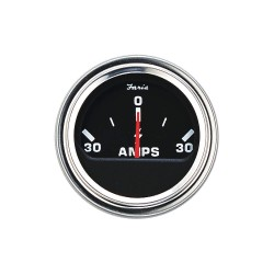 Faria Beede Instruments - AP0531 - 2 Stainless Steel Engine Ammeter Gauge with 2-1/16 (53mm) Mounting Hole