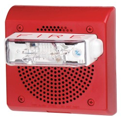 Eaton Electrical - CN115821 - 24VDC Outdoor Speaker, 93dB, Red