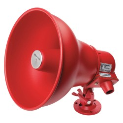 Eaton Electrical - CN105942 - 25/70 Vrms Indoor and Outdoor Horn, 93 to 102dB, Red