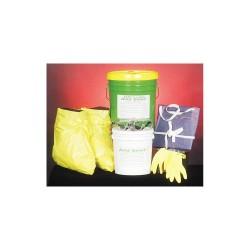 Spill Buster - 2004-005 - Acid Neutralizing Spill Kit, Neutralizes Acids, Granular, 5 gal.