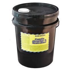 Spill Buster - 4903-005 - Base Neutralizer, Neutralizes Bases, Granular, 5 gal.