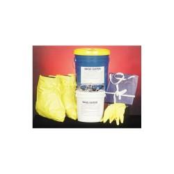 Spill Buster - 4902-015 - Base Neutralizer Kit, Neutralizes Bases, Granular, 15 gal.