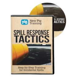 New Pig - DVD100-ENG - Spill Response Tactics Training, DVD