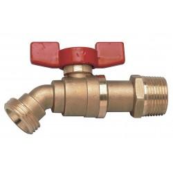 Other - BD-QT- 1/2 - 1/2 Brass Boiler Drain Valve, MNPT x MGHT