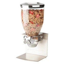 Honey-can-do - KCH-06145 - Single Cereal Dispenser, Number of Compartments 1, 17-1/2 oz., Width 7, Height 15, Depth 6-1/2