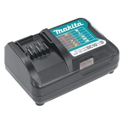 Makita - DC10WD - Battery Charger, Li-Ion, Charger Output Voltage: 12.0, Number of Ports: 1