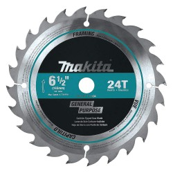 Makita - T-01404 - Makita T-01404 6-1/2-Inch 24-Tooth Carbide-Tipped Framing Circular Saw Blade