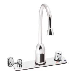 Speakman - S-9229-CA-E - Metal, Plastic, Stainless Steel Bathroom Faucet, Sensor Handle Type, No. of Handles: 0