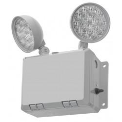 Acuity Brands Lighting - WLTULED - 120/277V LED Emergency Light, 2.7W, Gray Plastic, Nickel Cadmium Battery Chemistry