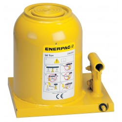 Enerpac - GBJ050 - 7-3/32 x 9-1/16 Standard Steel Bottle Jack with 50 tons Lifting Capacity