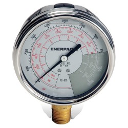 "Enerpac - GF10P - 4"" General Purpose Pressure Gauge, 0 to 10, 000 psi"