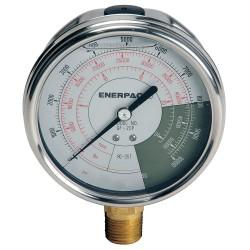 "Enerpac - GF20P - 4"" General Purpose Pressure Gauge, 0 to 10, 000 psi"