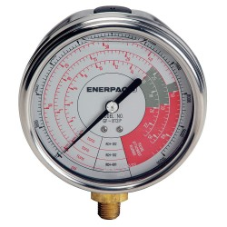 Enerpac - GF813P - 4 General Purpose Pressure Gauge, 0 to 10, 000 psi