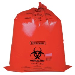 Bel-Art - 131643138 - Bag, Pp, Wr, Biohazard Disposal, 31x38,
