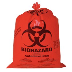 Bel-Art - 131651419 - BAG HDPE WR BIOHAZARD 14X19IN. (Pack of 200)