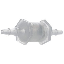 Bel-Art - 197150000 - Bel-Art PP Check Valve, 1/8' to 1/4' hose barb, 6/bag