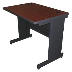 Pronto Products - PTR3624M_DTMA - Rectangle Training Table, Mahogany, 36W x 24 Depth