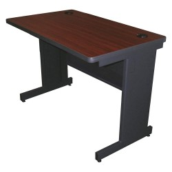 Pronto Products - PTR4224M_DTMA - Rectangle Training Table, Mahogany, 42W x 24 Depth