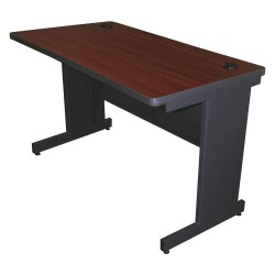 Pronto Products - PTR4824M_DTMA - Rectangle Training Table, Mahogany, 48W x 24 Depth