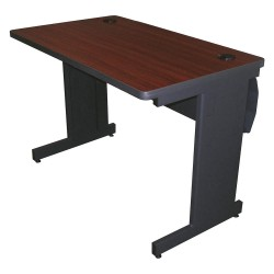 Pronto Products - PTR4224L_DTMA - Rectangle Training Table, Mahogany, 42W x 24 Depth