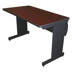 Pronto Products - PTR4824L_DTMA - Rectangle Training Table, Mahogany, 48W x 24 Depth