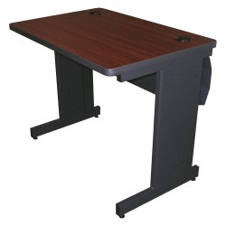 Pronto Products - PTR3630L_DTMA - Rectangle Training Table, Mahogany, 36W x 30 Depth