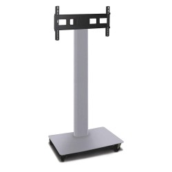 Marvel Group - MVPFE6065ST - TV/Monitor Stand, 36in.W, Silver, Steel