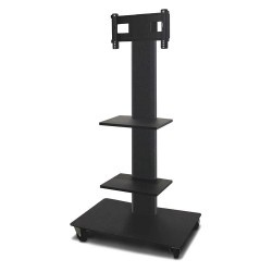 Marvel Group - MVPFS3255DT-2 - TV/Monitor Stand, 36in.Wx24inDx55in.H, Blk