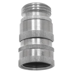 Columbia Sanitary Products - N24S - Stainless Steel Hose Adapter, For Use With Nozzles and Hose