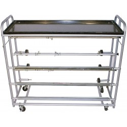 Keysco Tools - 78015 - Prep Station, Silver, Aluminum