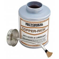 Rectorseal - 72851 - Rectorseal 72851 8 Oz. Copper-Rich High-Temp Anti-Seize Lubricant - 12 Pack