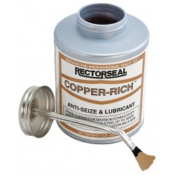 Rectorseal - 72841 - Anti Seize Compound, 16 oz. Container Size, 16 oz. Net Weight