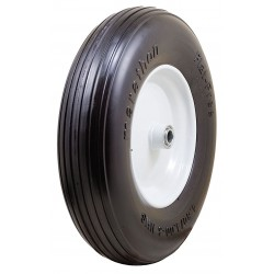 Other - 00063 - 15-3/8 Light-Medium Duty Ribbed Tread Solid Wheel, 500 lb. Load Rating