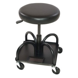 Whiteside - HRASW - 15 x 15 Creeper Seat with 4 Wheels and 480 lb. Load Capacity