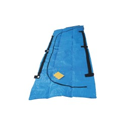 FSI North America - F-DISFEMA - Cadaver Bag, Blue, Vinyl, 92-1/2 in. L