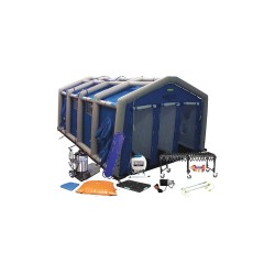 FSI North America - DAT3535S-SYS-NL - Decontamination Shower, Blue, 1000 lb.