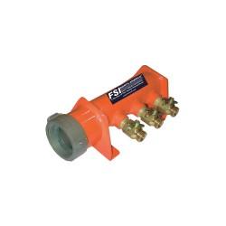 FSI North America - F-MMU253 - Multi-Manifold Water Unit, Aluminum/Brass