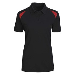 Dickies - FS606BKER - Short Sleeve Polo, Black English Red, S