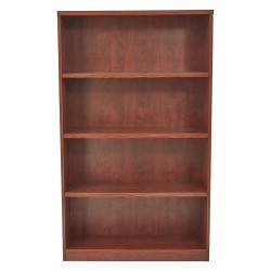 Office Star Products - LBC361260CHY - OSP Furniture Multipurpose Laminate Bookcase - 60 Height x 36 Width x 12 Depth - Cherry - Particleboard, Polyvinyl Chloride (PVC) - 1Each