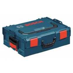 Bosch - L-BOXX-2 - Bosch L-Boxx-2 1-Click Stacking Theft Security Locking L-Boxx Case, Size 2