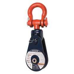 Crosby - 109126 - Snatch Block, Shackle, 16, 000 lb, Wire Rope