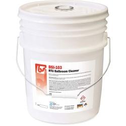 Best Sanitizers - BSI1032 - 5 gal. Fresh Fragrance Bathroom Cleaner, 1 EA