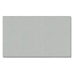 Ghent - 12UV48-W193 - Silver Vinyl Bulletin Board, Frameless Frame Material, 96-5/8 Width, 48-5/8 Height
