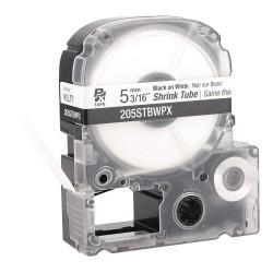 K-Sun - 205STBWPX - 3/16W Black on White Polyolefin Heat Shrink Tube