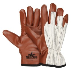 Memphis Glove - 9740M - Med. Consolidator Plus Driver Style Gloves Nitr