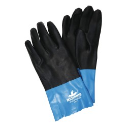Memphis Glove - 6962L - Neoprene Chemical Resistant Gloves, Standard Weight Thickness, Brushed Interlock Lining, Size L