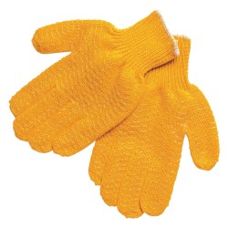 Memphis Glove - 9675S - Orange Knit Gloves, Size S, 7 Gauge